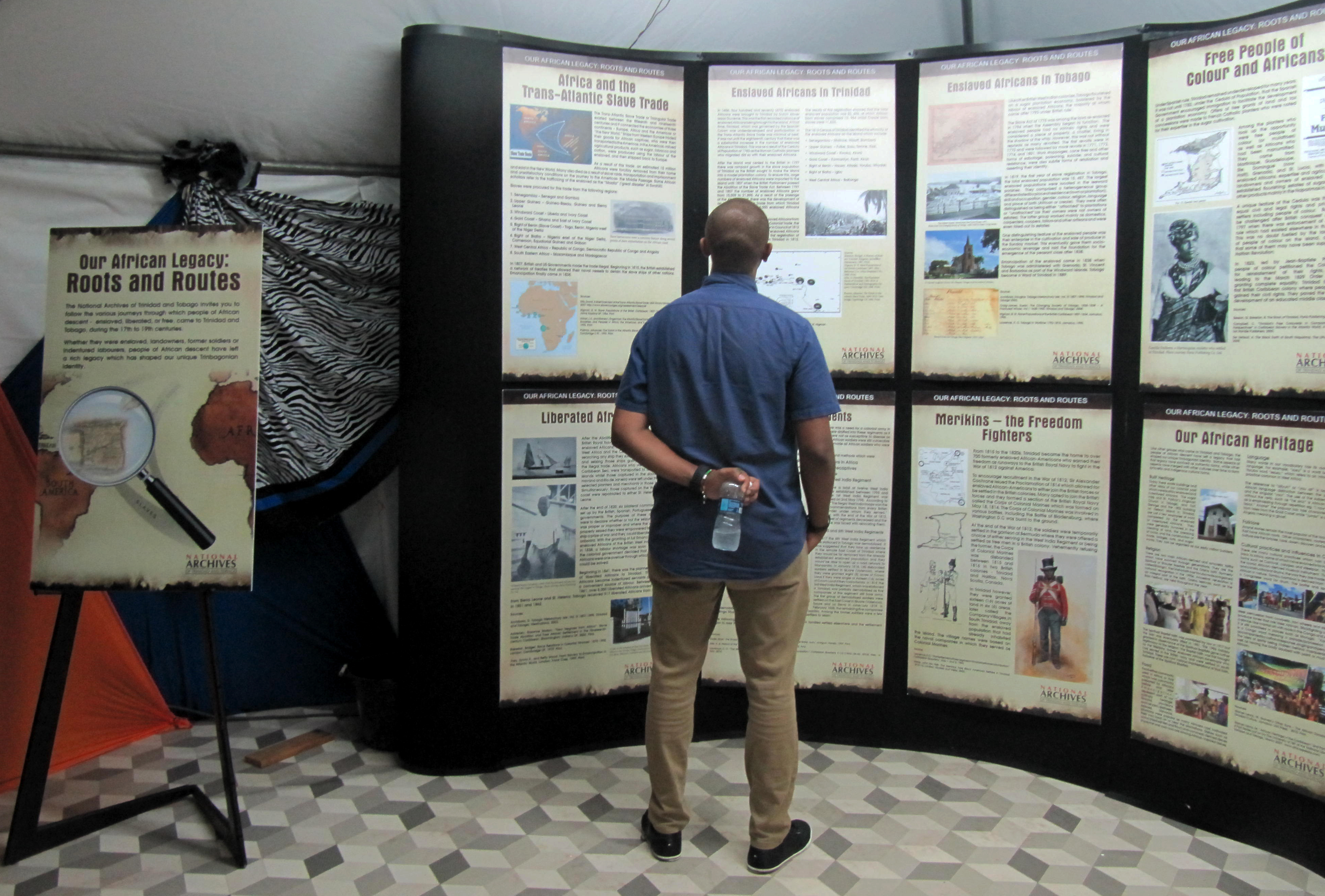 Roots and Routes exhibition